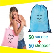 shopper + sacca